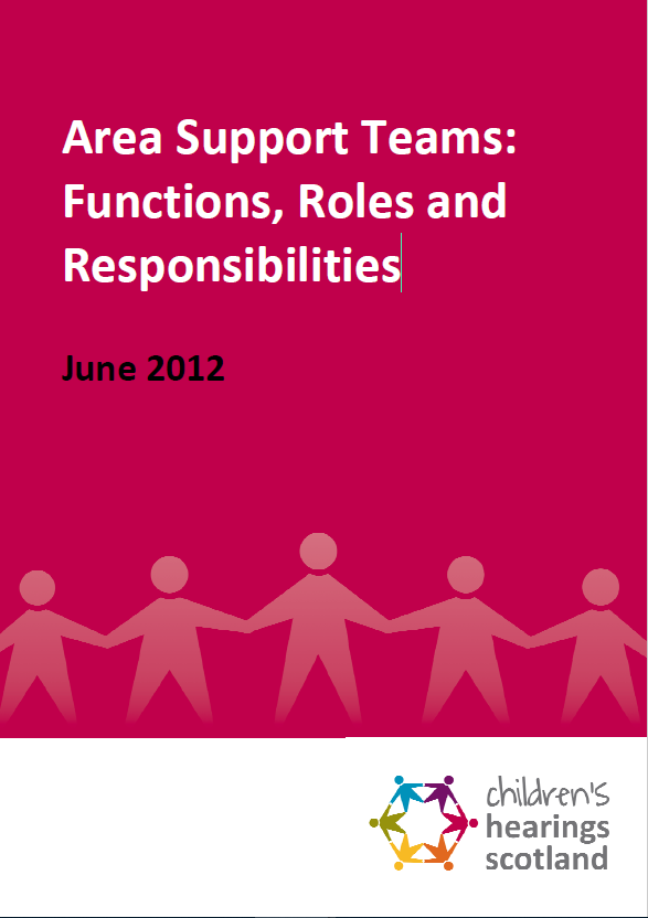 Area Support Teams: Functions, Roles & Responsibilities